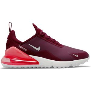 Nike Air Max 270 Golf Shoes Dark Beetroot/Sail/Pink Salt