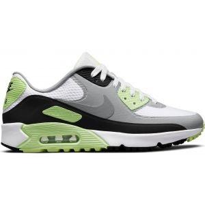 Nike Air Max 90 G Golf Shoes White/Black/Light Smoke Grey/Particle Grey