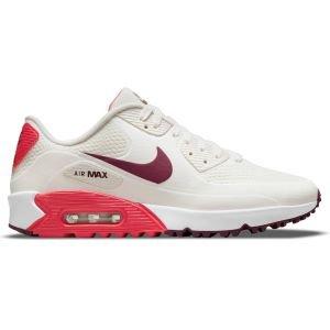 Nike Air Max 90 G Golf Shoes Sail/Dark Beetroot/Fusion Red/White
