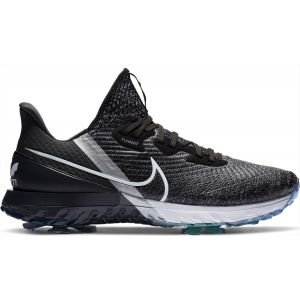 Nike Air Zoom Infinity Tour Golf Shoes Black/White/Noir/Metallic Platinum