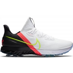 Nike Air Zoom Infinity Tour Golf Shoes White/Volt/Black/Flash Crimson