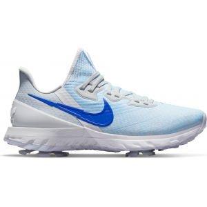 Nike Air Zoom Infinity Tour Golf Shoes White/Pure Platinum/Volt/Racer Blue