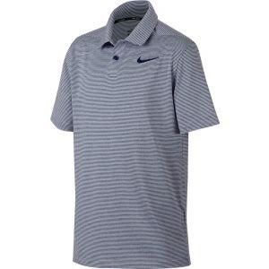 Nike Boys Junior Control Stripe Golf Polo