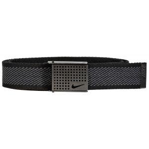 Nike Golf Diagonal Web With Cutout Buckle Belt