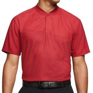 Nike Dri-Fit TW Tiger Woods Blade Collar Golf Polo - CT3799 - 687 GYM RED - XXL