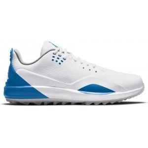 Nike Air Jordan ADG 3 Golf Shoes White/Metallic Silver/Military Blue