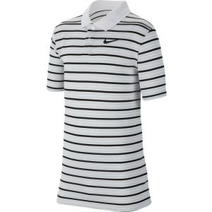 Nike Junior Boys Victory Stripe Golf Polo - Bv0405