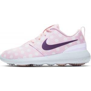 Nike Junior Roshe G Golf Shoes - Echo Pink/White/Gridiron