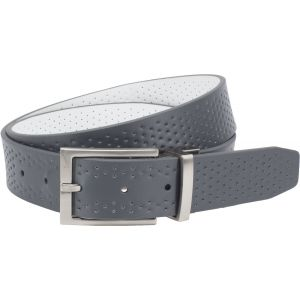 Nike Perforated Reversible Belt Grey/White