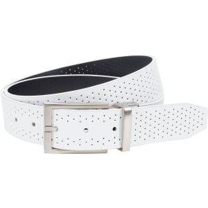 Nike Perforated Reversible Belt White/Black