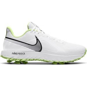 Nike React Infinity Pro Golf Shoes 2021 - White/Black/Barely Volt