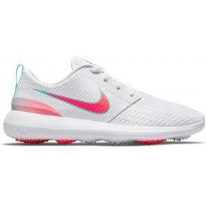 Nike Roshe G Golf Shoes White/Aurora Green/Hot Punch