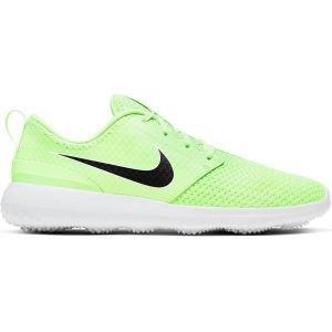 Nike Roshe G Golf Shoes Barely Volt/Black/White