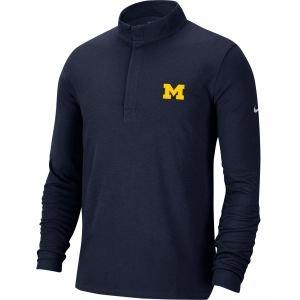 Nike University of Michigan Dri-FIT Victory 1/2 Zip Golf Pullover