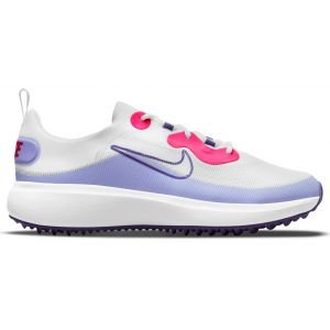 Nike Womens Ace Summerlite Golf Shoes White/Light Thistle/Hyper Pink/Concord
