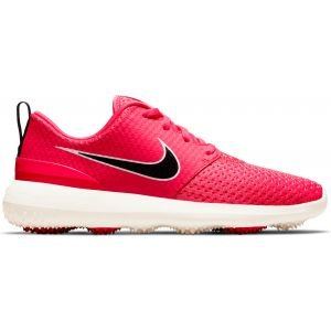 Nike Womens Roshe G Golf Shoes Fusion Red/Black/Sail