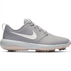 Nike Womens Roshe G Tour Golf Shoes Wolf Grey/Metallic White/White