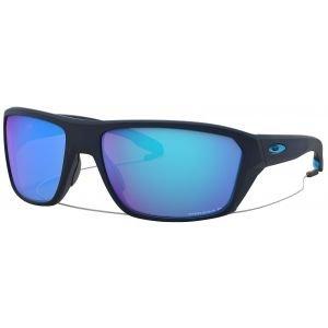 Oakley Split Shot Matte Translucent Blue Sunglasses Prizm Sapphire Polarized Lens