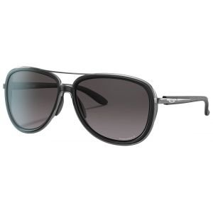 Oakley Split Time Velvet Black Sunglasses Prizm Grey Gradient Lens