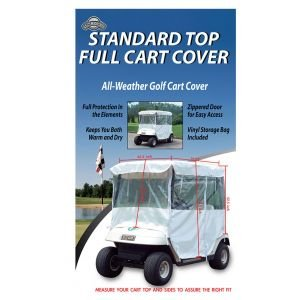 On Course Universal Full Class Golf Cart Cover