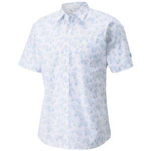 PUMA AP Best Friend Button Down Golf Polo Shirt Arnold Palmer Collection