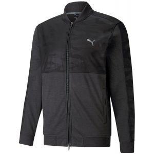 Puma CLOUDSPUN Stlth Camo Golf Jacket
