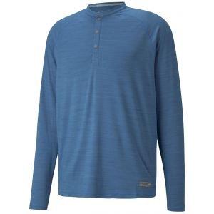 PUMA EGW CLOUDSPUN Longsleeve Henly Golf Shirt