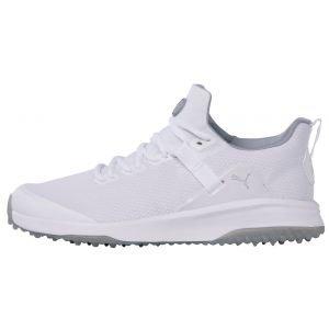 PUMA Fusion Evo Golf Shoes Puma White/Quarry