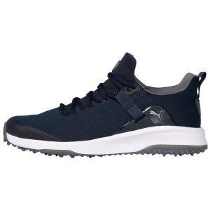 PUMA Fusion Evo Golf Shoes Navy Blazer/Quiet Shade
