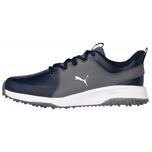 PUMA Grip Fusion Pro 3.0 Golf Shoes Navy Blazer/Puma Silver/Quiet Shade