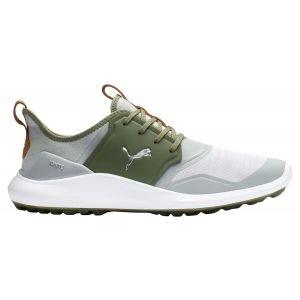 Puma Ignite NXT Lace Golf Shoes High Rise/Silver/Lichen Green