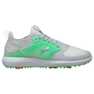 PUMA IGNITE PWRADAPT Caged Flash FM Golf Shoes 2021 High Rise/Island Green