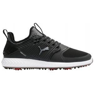 Puma Ignite PWRAdapt Caged Golf Shoes 2020 - Black/Silver/Black