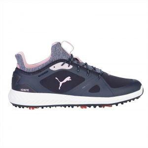 Puma Ignite PWRadapt Golf Shoes Peacock/Pale Pink