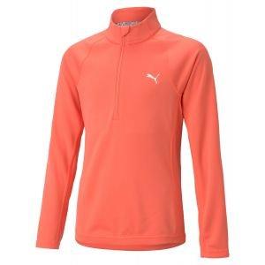 Puma Girls 1/4 Zip Junior Golf Pullover