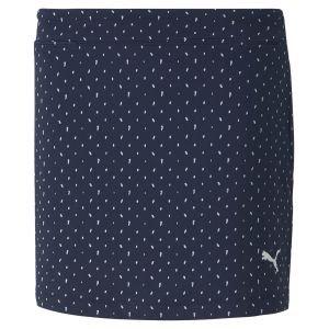 PUMA Junior Girls Polka Golf Skirt