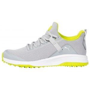 PUMA Junior Grip Fusion Evo Golf Shoes High Rise/Limepunch