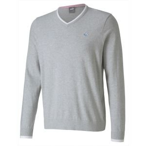 Puma Members V-Neck Golf Sweater - Arnold Palmer Collection