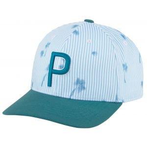 PUMA P 110 Seersucker Snapack Golf Hat 023251