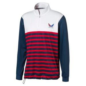 PUMA Volition Allegiance 1/4 Zip Golf Pullover On Sale