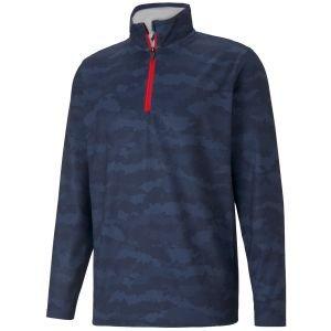Puma Volition Flanked 1/4 Zip Golf Jacket