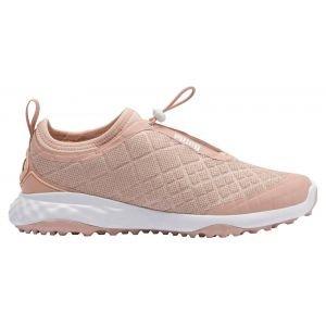 Puma Womens Brea Fusion Sport Golf Shoes Cameo Rose/White