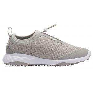 Puma Womens Brea Fusion Sport Golf Shoes Gray Violet/White
