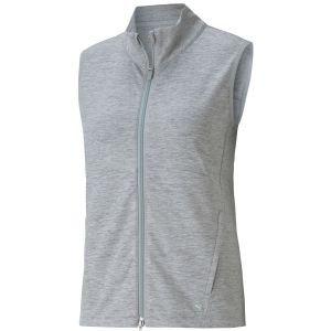 PUMA Women's CLOUDSPUN Full Zip Golf Vest