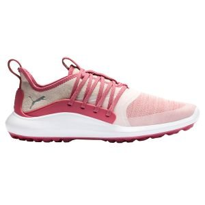 Nike Womens Ignite NXT Solelace Golf Shoes Rapture Rose/Silver