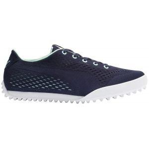 Puma Womens Monolite Cat EM Golf Shoes Peacoat/Mist Green 2020