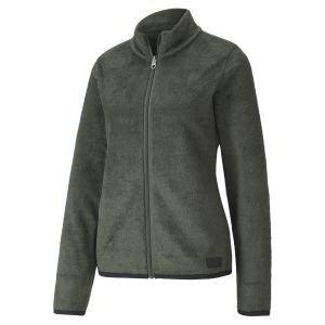Puma Ladies Sherpa Golf Fleece Jacket