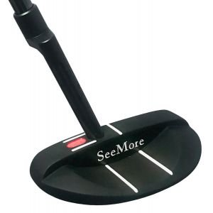 SeeMore Classic Series Black Si3 Mallet Putter RST Hosel