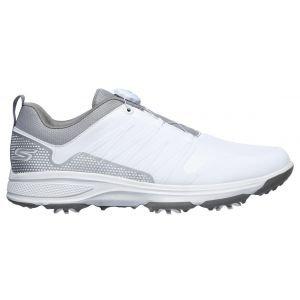 Skechers Go Golf Torque Twist Golf Shoes White/Gray 2020