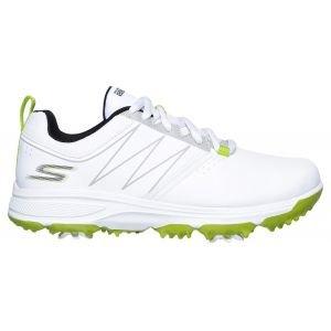 Skechers Junior Go Golf Blaster Golf Shoes White/Lime